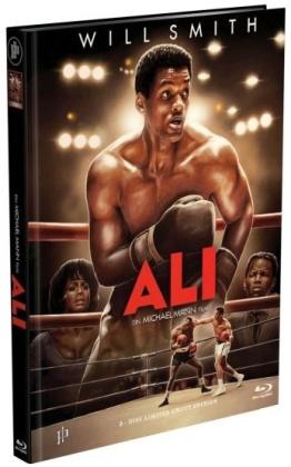 Ali (2001) (Cover A, Limited Edition, Mediabook, Uncut, Blu-ray + DVD)