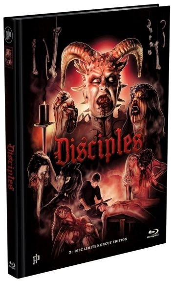 Disciples (2014) (Cover A, Limited Edition, Mediabook, Uncut, Blu-ray + DVD)