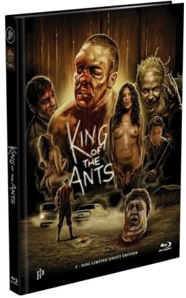 King of the Ants (2003) (Cover A, Limited Edition, Mediabook, Uncut, Blu-ray + DVD)