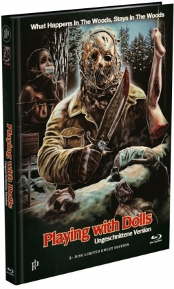 Playing with Dolls (2015) (Cover A, Limited Edition, Mediabook, Uncut, Blu-ray + DVD)