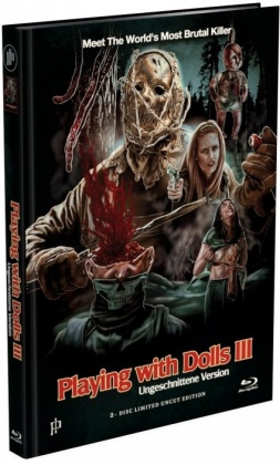 Playing with Dolls 3 (2017) (Cover A, Limited Edition, Mediabook, Uncut, Blu-ray + DVD)