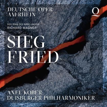 Axel Kober, Duisburger Philharmoniker & Richard Wagner (1813-1883) - Siegfried (3 CDs)