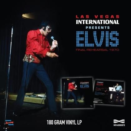 Elvis Presley - Las Vegas International Presents Elvis - Final Rehearsals 1970 (LP)