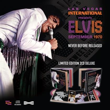 Elvis Presley - Las Vegas International Presents Elvis - September 1970 (2 CDs)