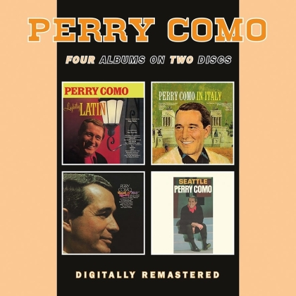 Perry Como - Lightly Latin / In Italy / Look To Your / Seattle (2 CD)