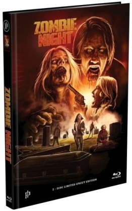 Zombie Night (2013) (Cover A, Limited Edition, Mediabook, Uncut, Blu-ray + DVD)