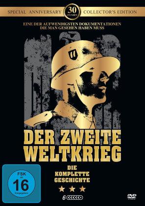 Der Zweite Weltkrieg - Die komplette Geschichte in 30 Stunden (Collector's Edition, Anniversary Special Edition, 6 DVDs)