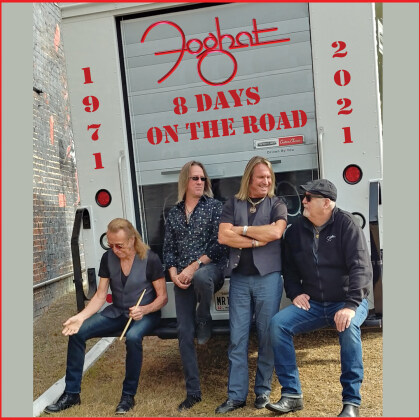 Foghat - 8 Days On The Road (Digipack, 2 CDs + DVD)