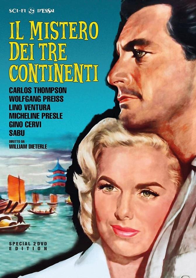 Il mistero dei tre continenti (1960) (Sci-Fi d'Essai, Edizione Speciale, 2 DVD)