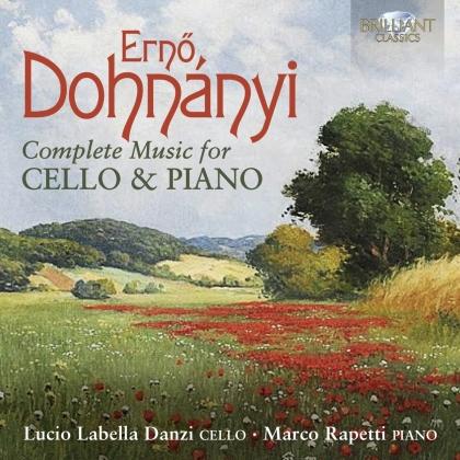 Ernst (Ernö) von Dohnanyi (1877-1960), Lucio Labella Danzi & Marco Rapetti - Complete Music For Cello & Piano