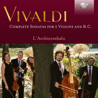 L'Archicembalo & Antonio Vivaldi (1678-1741) - Complete Sonatas For 2 Violins And B.C. (3 CDs)
