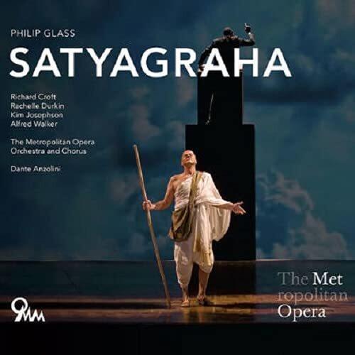 Metropolitan Opera Orchestra, Philip Glass (*1937) & Dante Anzolini - Satyragaha