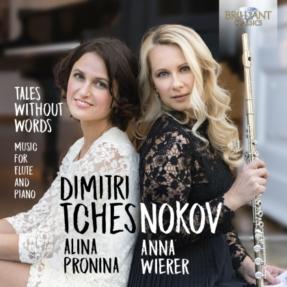 Dimitri Tchesnokov (*1982), Anna Wierer & Alina Pronina - Tales Without Words - (Music For Flute & Piano)