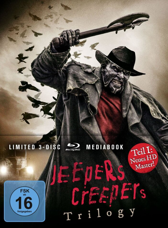 Jeepers Creepers - Trilogy (Limited Edition, Mediabook, 3 Blu-rays)