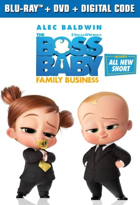 Boss Baby 2 - Family Business (2021) (Blu-ray + DVD)
