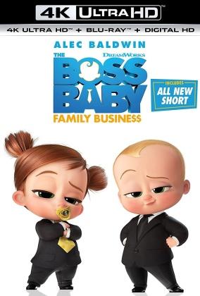 Boss Baby 2 - Family Business (2021) (4K Ultra HD + Blu-ray)