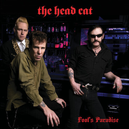Head Cat (Lemmy/Slim Jim Phantom/Harvey) - Fool's Paradise (2021 Reissue, Cleopatra, Silver Vinyl, LP)