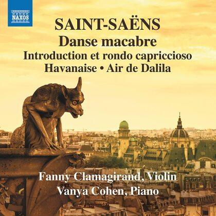Camille Saint-Saëns (1835-1921), Fanny Clamagirand & Vanya Cohen - Music For Violin & Piano 3