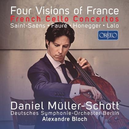 Camille Saint-Saëns (1835-1921), Gabriel Fauré (1845-1924), Arthur Honegger (1892-1955), Edouard Lalo (1823-1892), Alexandre Bloch, … - Four Visions Of France