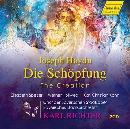 Chor der Bayerischen Staatsoper, Joseph Haydn (1732-1809), Karl Richter, Elisabeth Speiser & Werner Hollweg - Die Schöpfung - Live 8. mai 1972 (2 CDs)