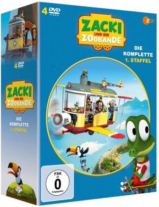 Zacki Und die Zoobande - Staffel 1 (4 DVDs)