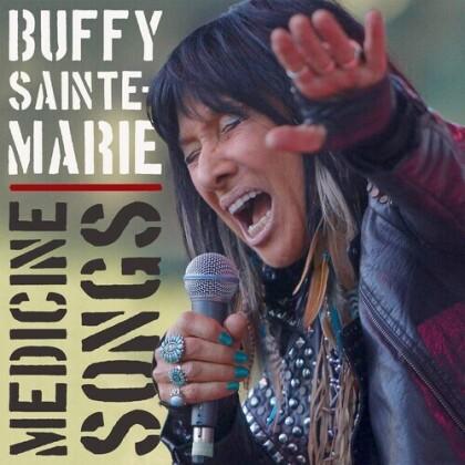 Buffy Sainte-Marie - Medicine Songs (2021 Reissue, True North Records, Limited Edition, Red Vinyl, LP)