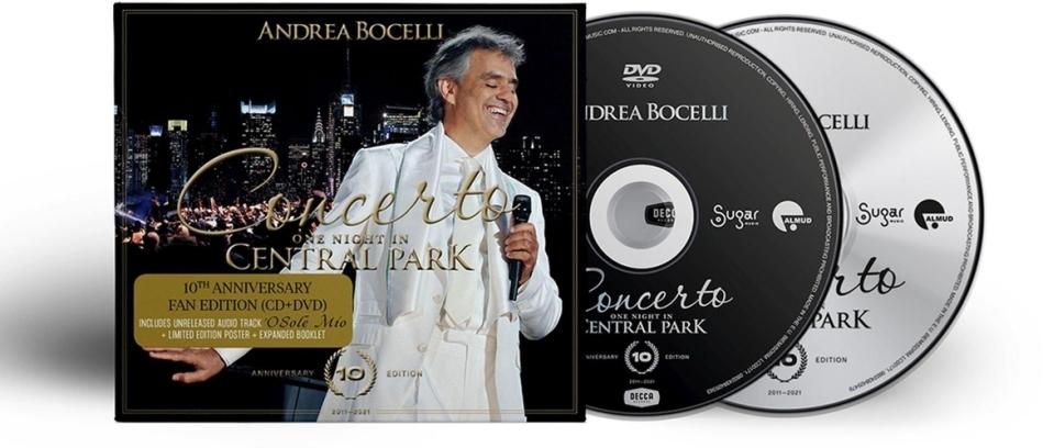 Andrea Bocelli - Concerto - One Night In Central Park (CD + DVD)
