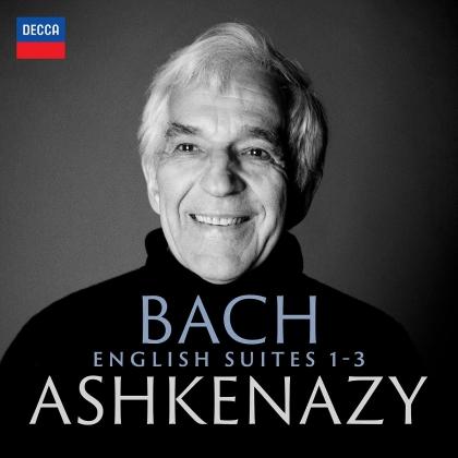 Johann Sebastian Bach (1685-1750) & Vladimir Ashkenazy - English Suites 1-3 (2 CDs)