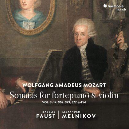 Wolfgang Amadeus Mozart (1756-1791), Isabelle Faust & Alexander Melnikov - Violin Sonatas Vol. 3 (Japan Edition)