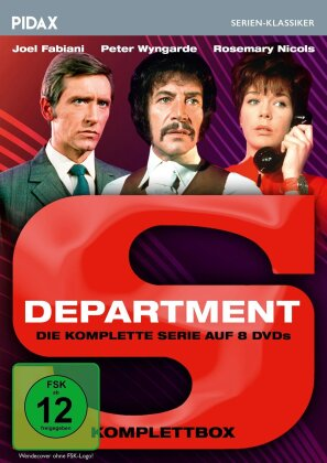 Department S - Die komplette Serie (Pidax Serien-Klassiker, 8 DVDs)