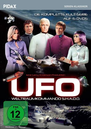 UFO - Weltraumkommando S.H.A.D.O. - Die komplette Serie (Pidax Serien-Klassiker, 6 DVDs)