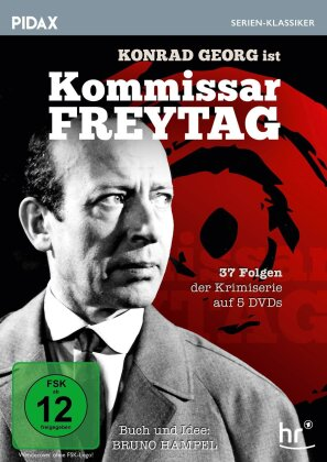 Kommissar Freytag (Pidax Serien-Klassiker, 5 DVDs)