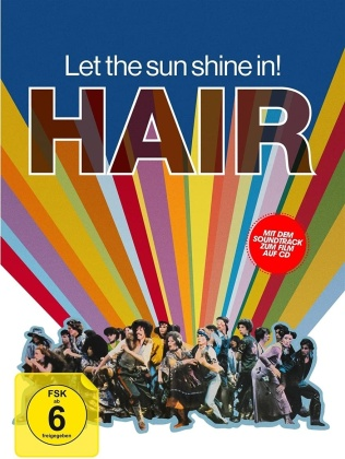 Hair (1979) (Limited Collector's Edition, Mediabook, Blu-ray + DVD + CD)
