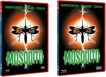 Mosquito (1995) (Rote Doppelbox, The NEW! Trash Collection, Limited Edition, Uncut, Blu-ray + DVD)