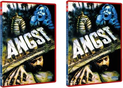 Angst der Verlorenen (1980) (The NEW! Trash Collection, Rote Doppelbox, Edizione Limitata, Uncut, Blu-ray + DVD)