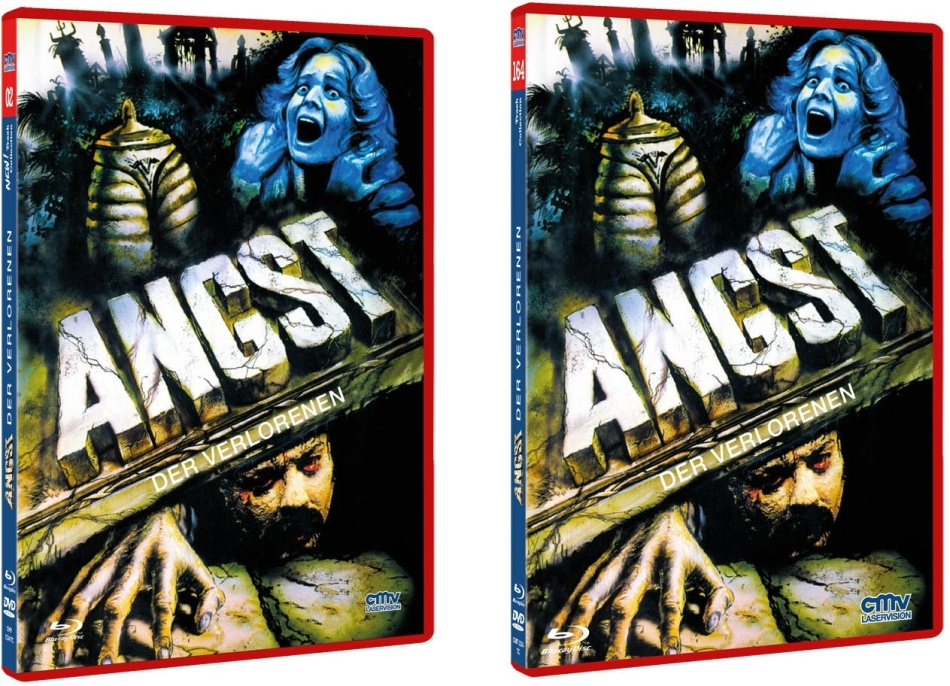 Angst der Verlorenen (1980) (The NEW! Trash Collection, Rote Doppelbox, Limited Edition, Uncut, Blu-ray + DVD)