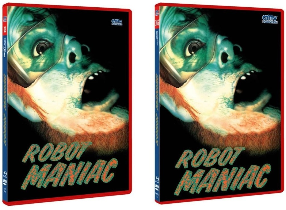 Robot Maniac (1984) (The NEW! Trash Collection, Rote Doppelbox, Limited Edition, Uncut, Blu-ray + DVD)