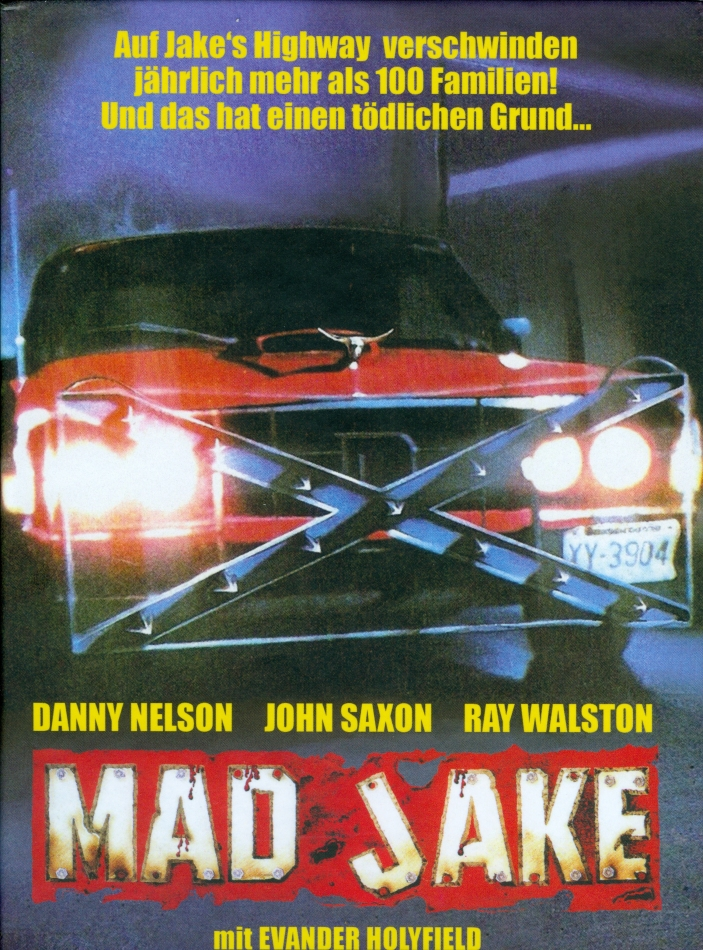 Mad Jake (1990) (Cover C, Super Spooky Stories, Limited Edition, Mediabook, Uncut, 2 DVDs)