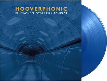 "Hooverphonic - Blue Wonder Power Milk - Remixes (2021 Reissue, Music On Vinyl, 2000 Copies, Limited Edition, Solid Blue Vinyl, 12"" Maxi)"
