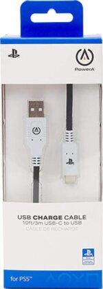 PS5 Ladekabel USB-C Power A 3m (offiziell lizenziert)
