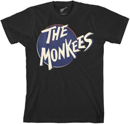 The Monkees Unisex T-Shirt - Retro Dot Logo