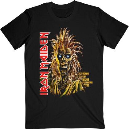 Iron Maiden - First Album 2 (Black) T-Shirt - Grösse S
