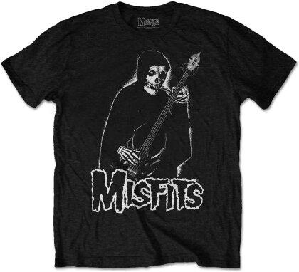 Misfits - Bass Fiend (Black) T-Shirt - Grösse L