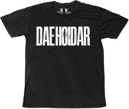 Radiohead - Daehoidar (Black) T-Shirt - Grösse L