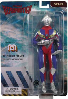Mego - Mego Sci-Fi Ultraman Tiga 8In Af
