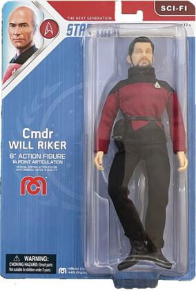 Mego - Mego Sci-Fi Star Trek Tng Commander Will Riker 8In