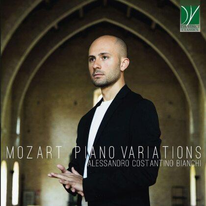 Wolfgang Amadeus Mozart (1756-1791) & Alessandro Costantino Bianchi - Piano Variations k. 24, 54/657B, 264, 265, 455