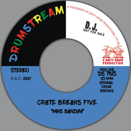 "Mike Bandoni - Crate Breaks Vol. 3 (7"" Single)"