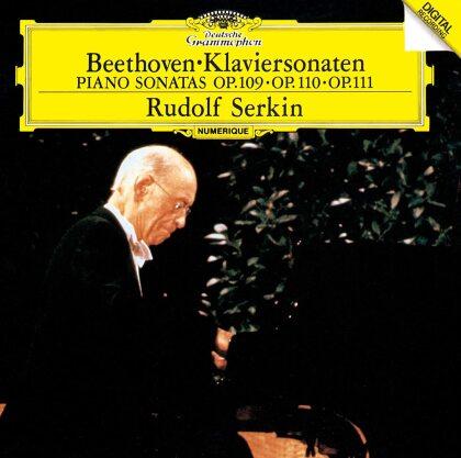 Ludwig van Beethoven (1770-1827) & Rudolf Serkin - Piano Sonatas Nos. 30, 31 & 32 (Japan Edition, 2021 Reissue)