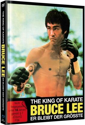 The King of Karate Bruce Lee - Er bleibt der Grösste (1975) (Cover A, Limited Edition, Mediabook, Blu-ray + DVD)